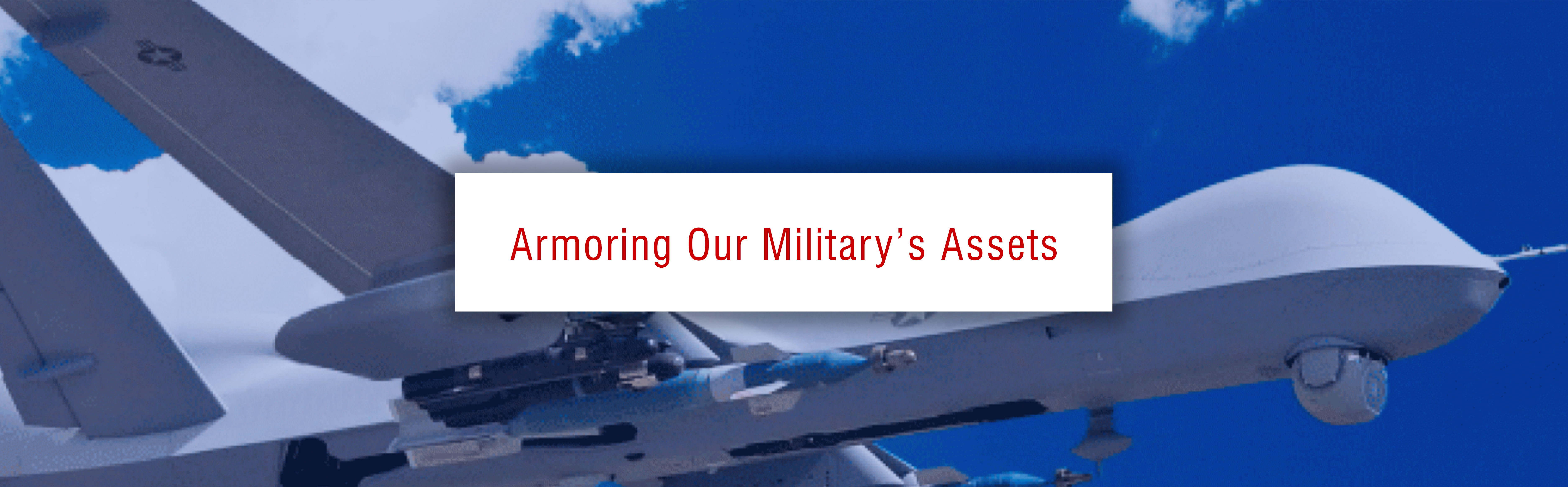 Armoring Our Military's Assets